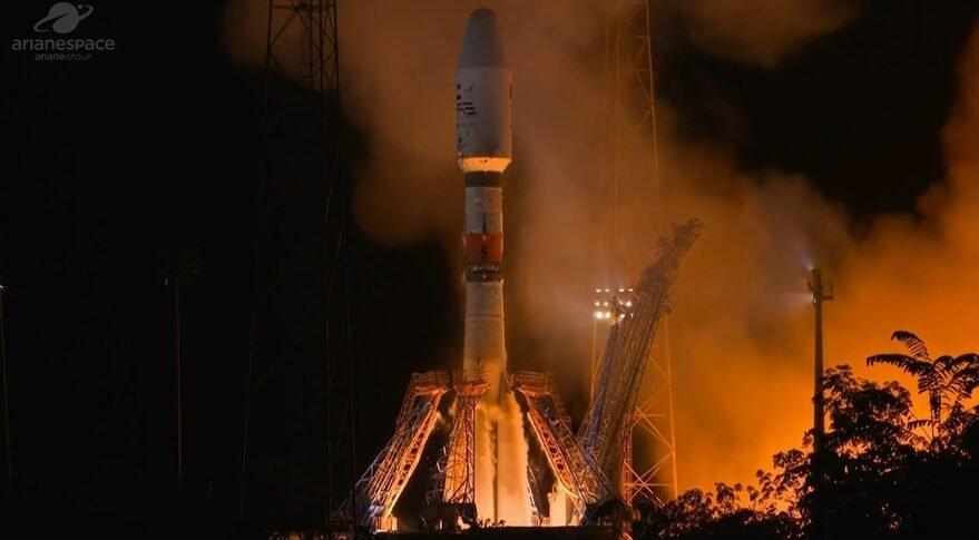 soyuz falconeye2 879x485 ماهواره «چشم شاهین ۲» امارات با کاربردهای محرمانه در مدار قرار گرفت اخبار IT