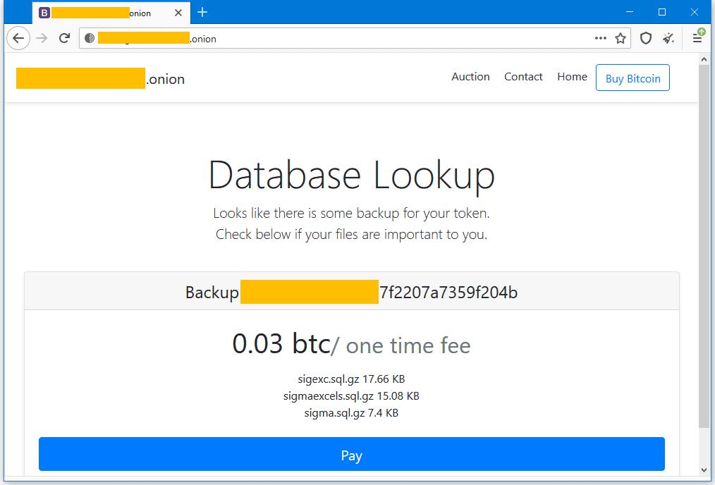 sql ransom site individual هکرها بیش از ۸۵ هزار دیتابیس MySQL را به فروش گذاشتند اخبار IT