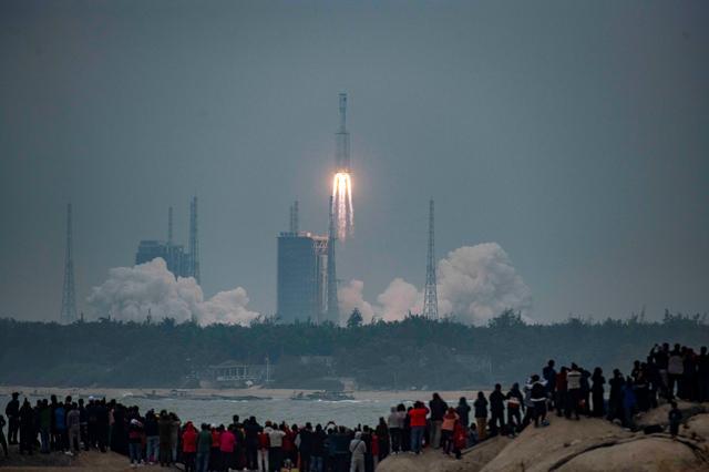 راکت جدید Long March 8 چین اولین پرواز خود را انجام داد