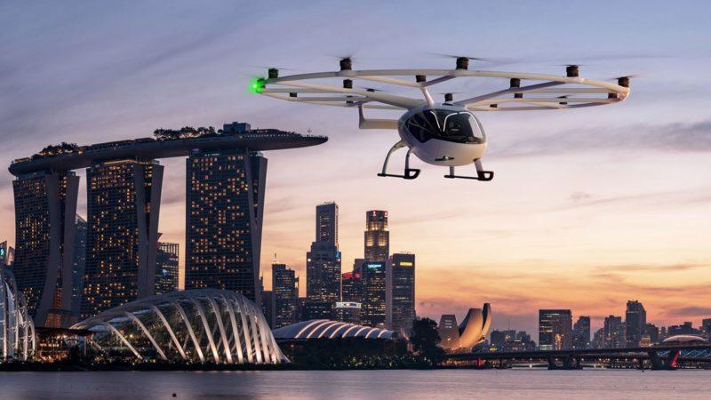 شروع بکار سرویس تاکسی هوایی در سنگاپور از سال ۲۰۲۳: فروش بلیط با قیمت ۳۰۰ یورو