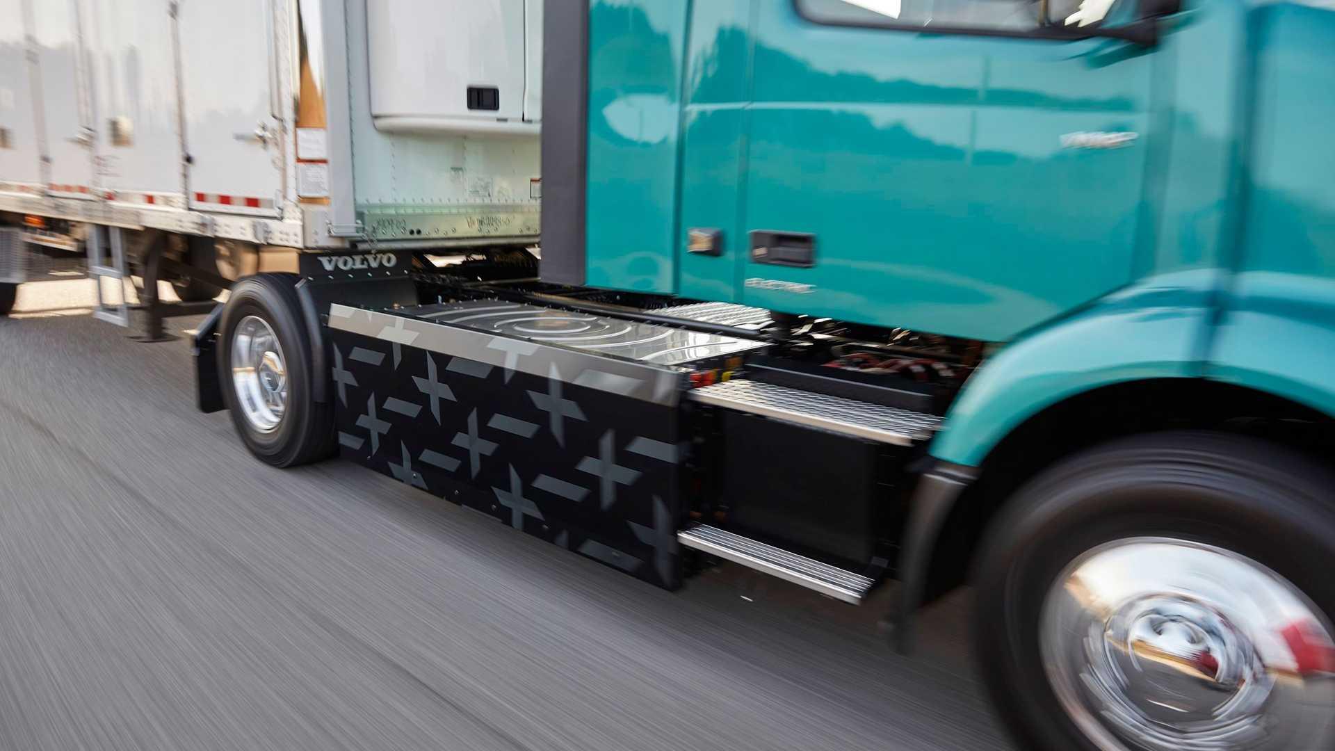 volvo vnr electric 3 اولین کامیون تمام برقی Volvo Trucks معرفی شد اخبار IT
