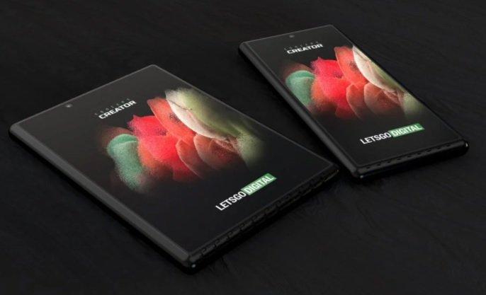 سامسونگ به فکر توسعه موبایل جدیدی با نمایشگر کشویی دوگانه است