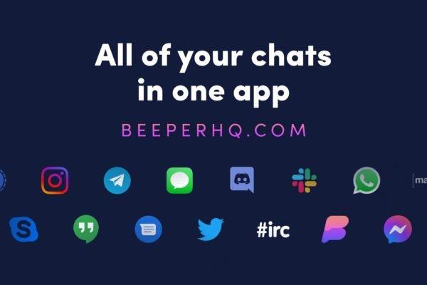 اپ Beeper امکان دسترسی یکجا به 15 پیامرسان محبوب را فراهم کرد