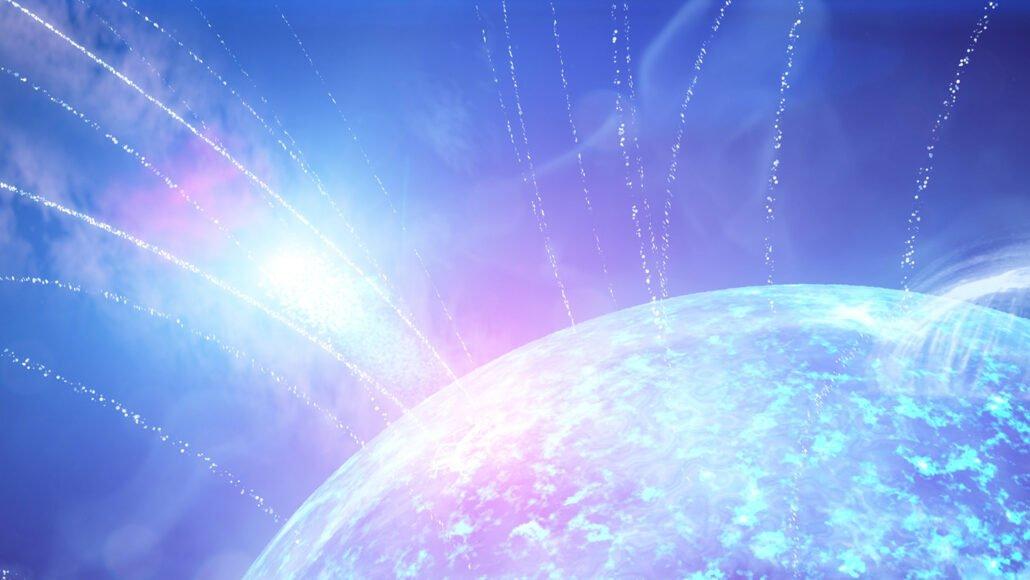 011421 lg magnetar feat 1030x580 اولین مغنااختر در کهکشانی دیگر نقاب از رخ برکشید: ستارهای که میلرزد اخبار IT