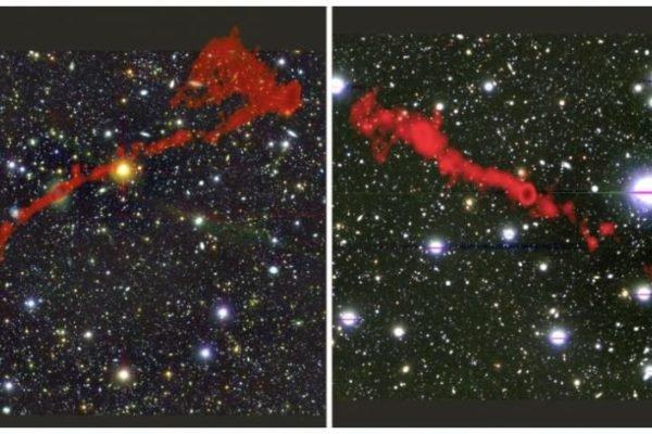 کشف دو کهکشان غولپیکر که 62 برابر از کهکشان راه شیری بزرگتر هستند