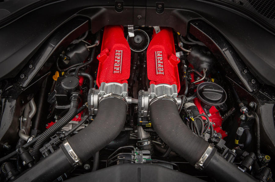 14 ferrari roma 2021 uk first drive review engine تجربه رانندگی با فراری روما؛ فراتر از یک کوپه خانوادگی اخبار IT