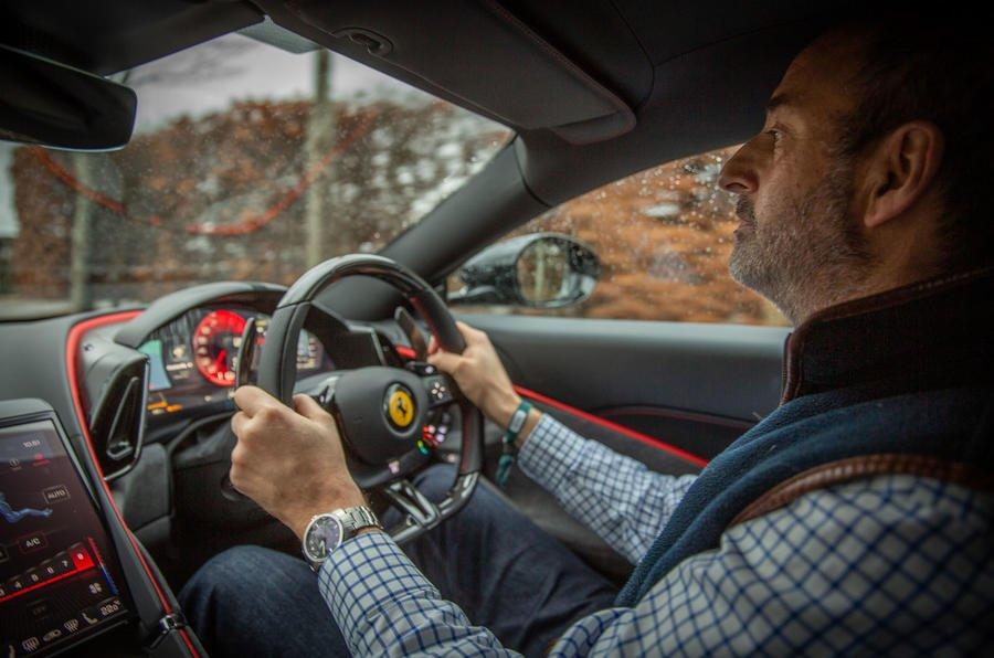 15 ferrari roma 2021 uk first drive review andrew frankel driving تجربه رانندگی با فراری روما؛ فراتر از یک کوپه خانوادگی اخبار IT