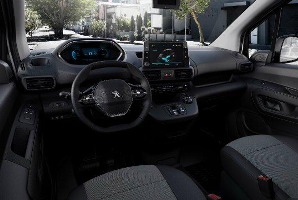 2021 peugeot e partner electric van 26 ون برقی پژو e Partner با باتری 50 کیلووات ساعتی و برد 275 کیلومتر معرفی شد اخبار IT