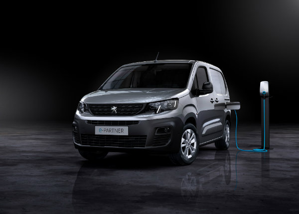 2021 peugeot e partner electric van 4 ون برقی پژو e Partner با باتری 50 کیلووات ساعتی و برد 275 کیلومتر معرفی شد اخبار IT