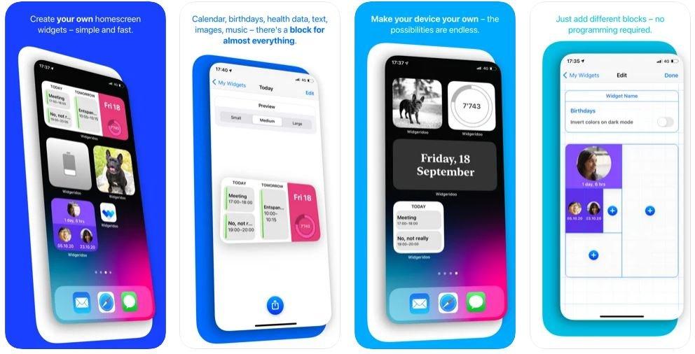 ویجت برای iOS 14