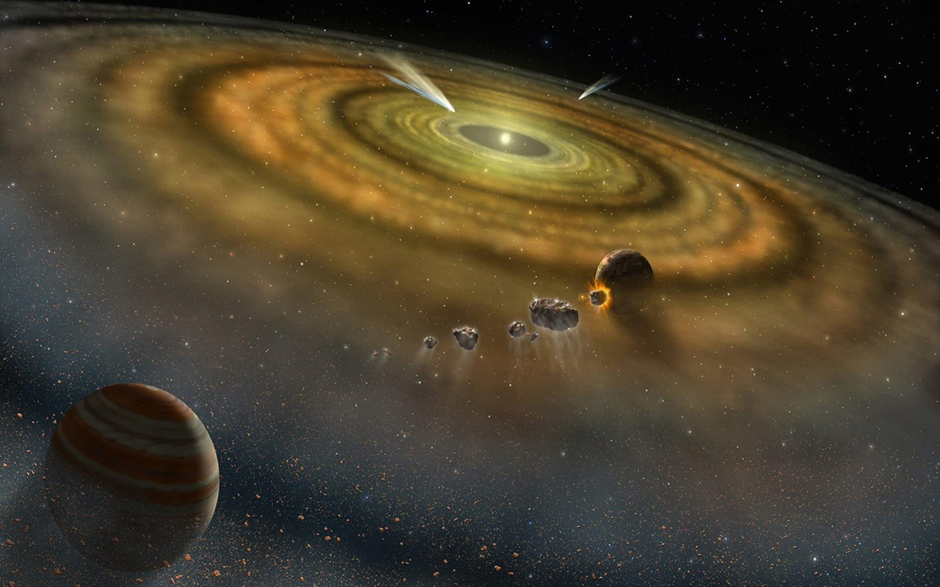 یافتههای جدید نشان میدهند بیشتر نیتروژن زمین نشأت گرفته از اطراف خود زمین است