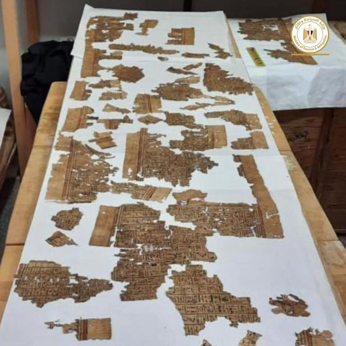 Egypt Book of the Dead اکتشافات باستان شناسی در شهر مردگان مصر ادامه دارد اخبار IT