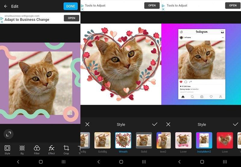InFrame با بهترین ابزار سازنده کادر و حاشیه عکس آشنا شوید اخبار IT