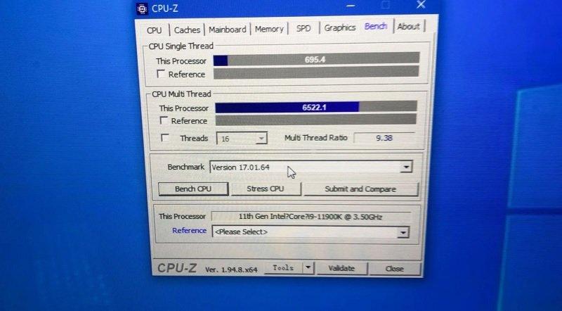 اینتل Core i9-11900K