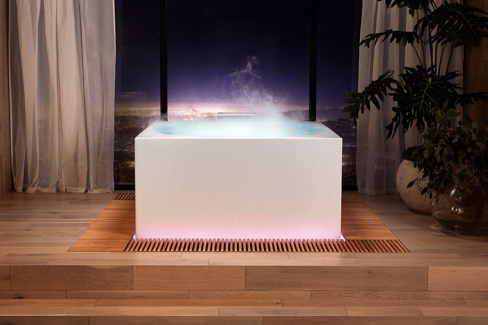 معرفی یک وان حمام ۱۶ هزار دلاری در CES که قرار است به شما آرامش بدهد
