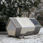 آلمان با ارائه اتاقکهای مجهز به پنل خورشیدی از بیخانمانها محافظت میکند
