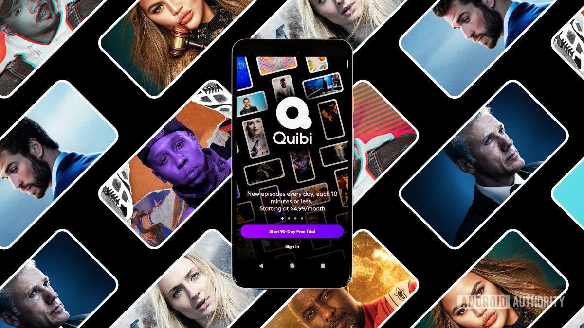Quibi streaming app on Android smartphone stock photo 1 w1200 بزرگترین شکستهای دنیای تکنولوژی در سال ۲۰۲۰ اخبار IT