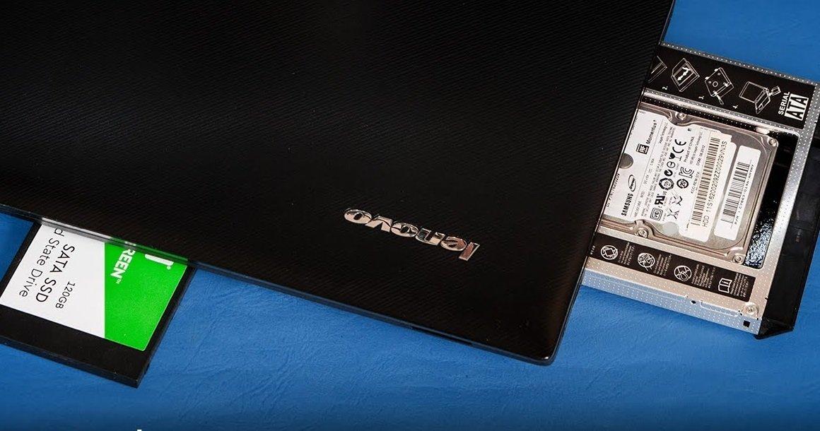 چگونه درایو DVD لپتاپ را با حافظه SSD یا هارد تعویض کنیم؟