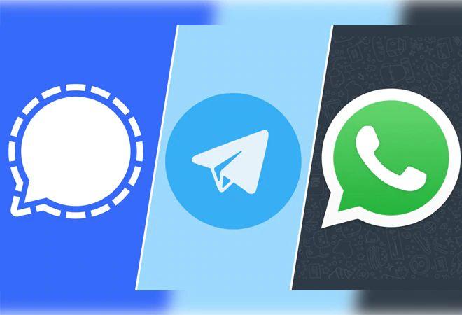مقایسه پیام رسان سیگنال با واتساپ و تلگرام