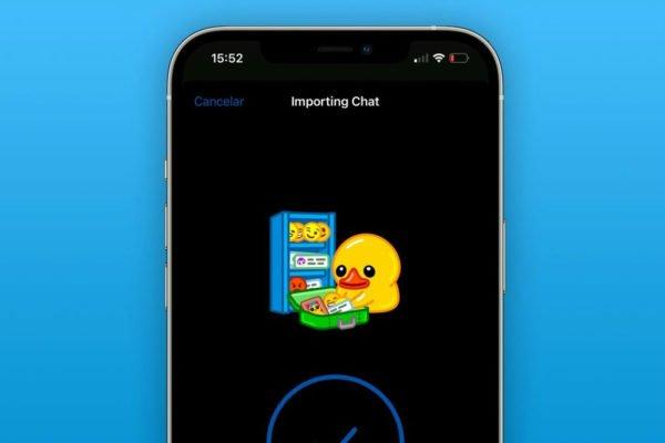 قابلیت انتقال تاریخچه چتها از واتساپ و پیامرسانهای دیگر به تلگرام اضافه شد
