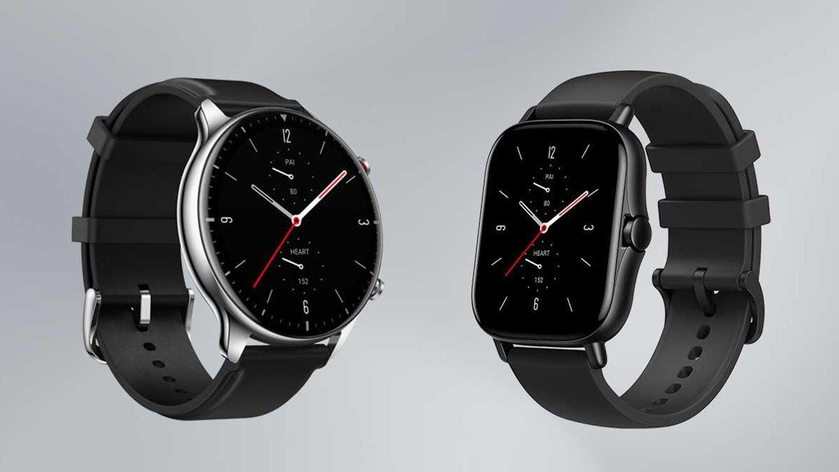 ساعتهای امیزفیت GTR 2e و GTS 2e با قیمت ۱۴۰ دلار معرفی شدند