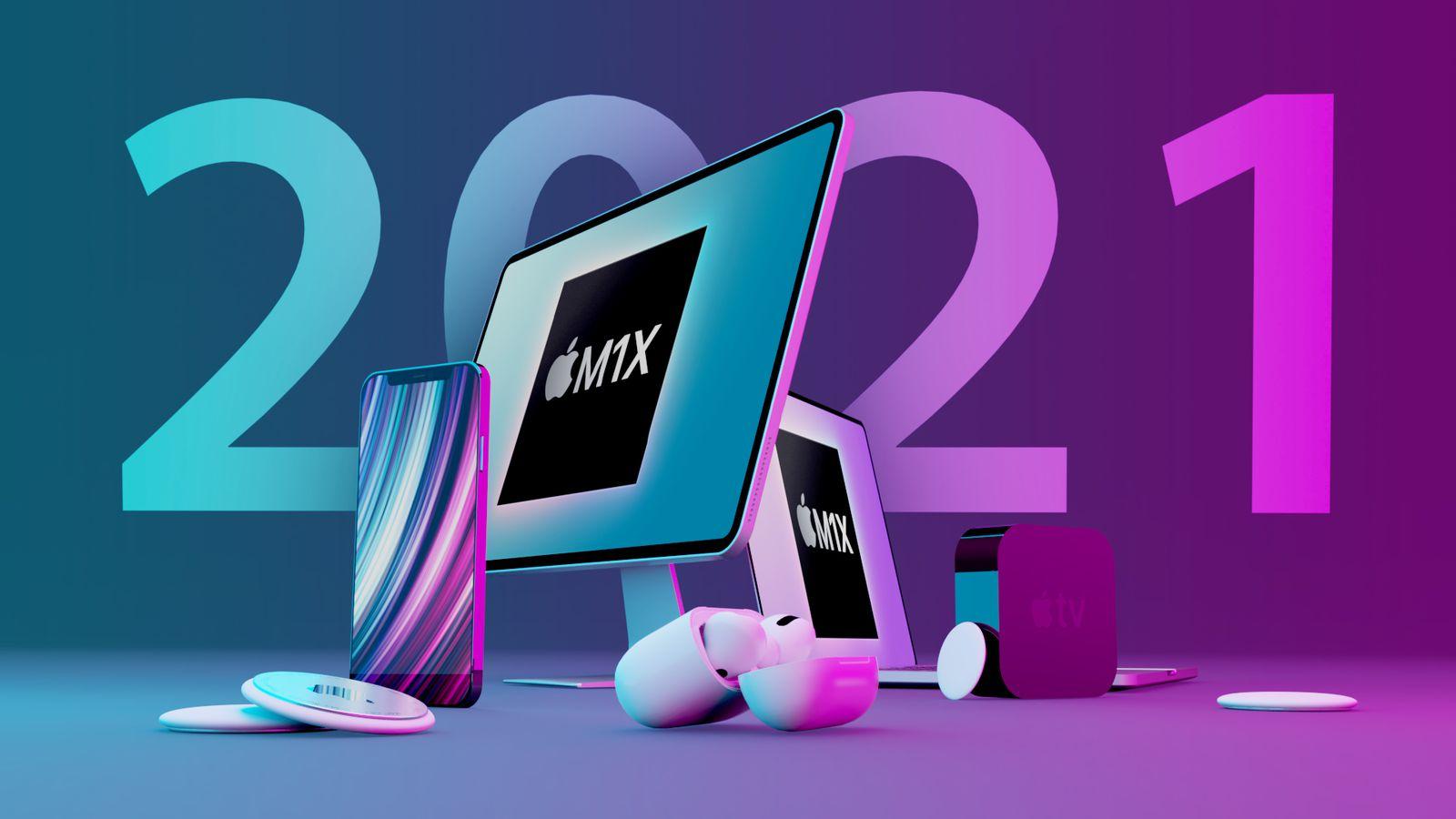 اپل در سال ۲۰۲۱ از چه محصولاتی رونمایی میکند؟