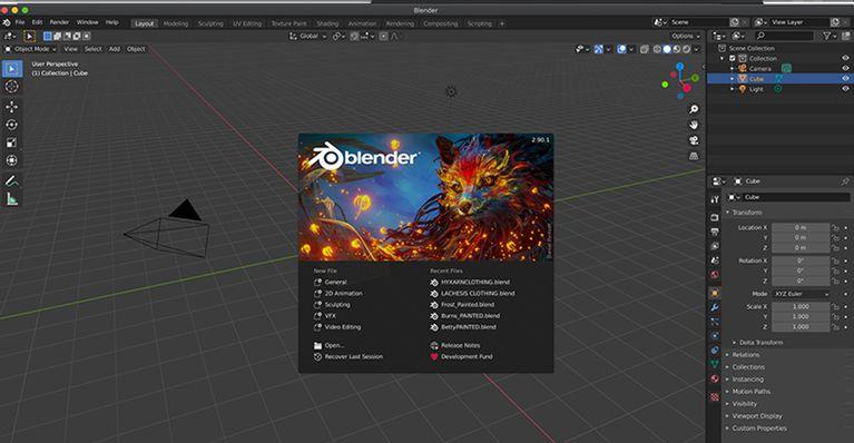 blender interface آموزش مقدماتی Blender؛ هرآنچه ضروریست درباره این نرم افزار طراحی بدانید اخبار IT