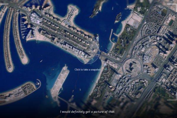 در سایت کانن با یک ماهواره واقعی از زمین عکس بگیرید