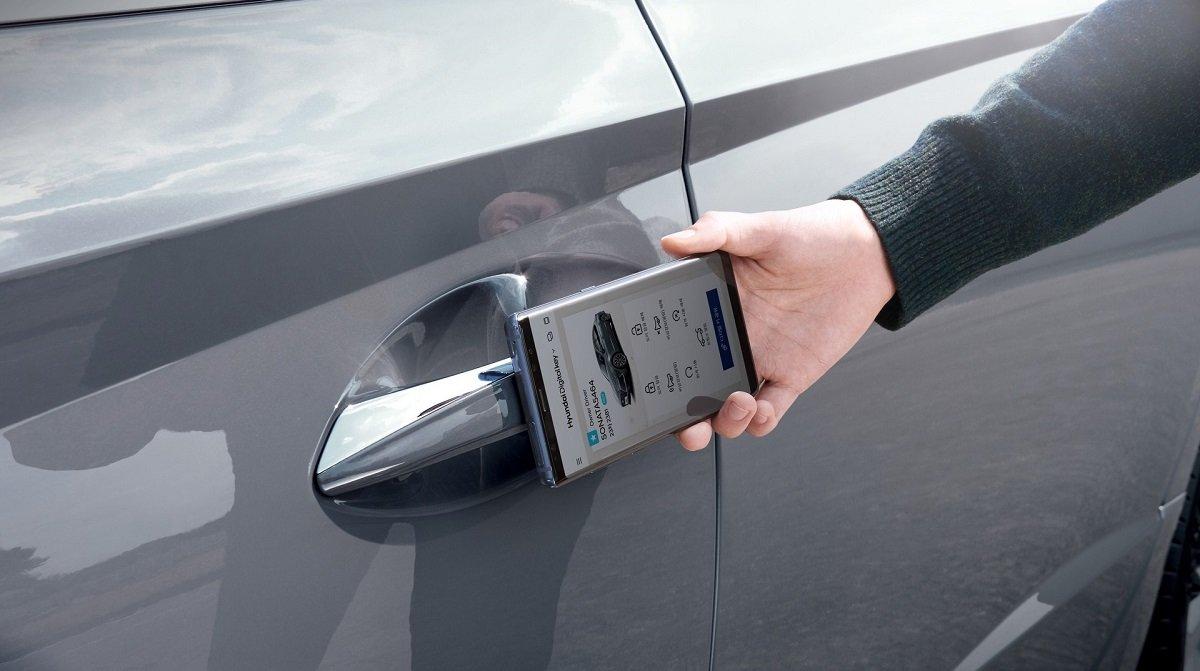 کلید دیجیتال خودرو