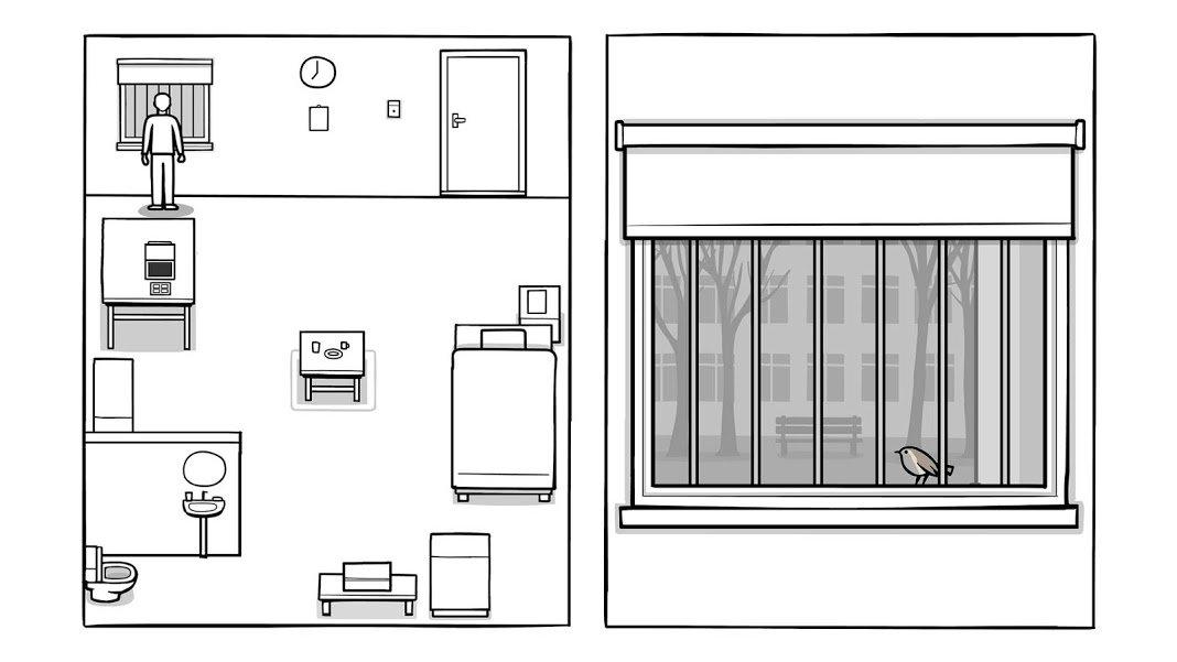 unnamed 1 معرفی بازی The White Door؛ تلاشی برای به یاد آوردن اخبار IT