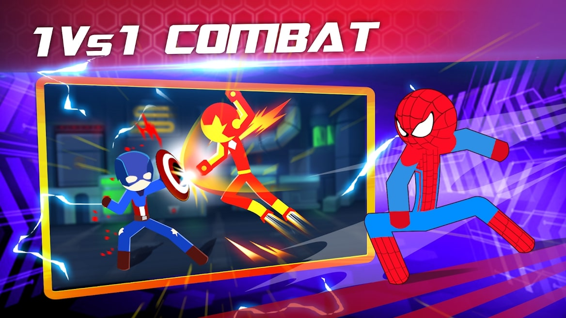 unnamed 3 7 معرفی بازی Super Stickman Heroes Fight