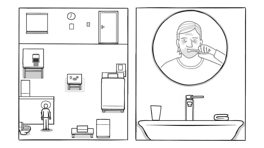 unnamed 3 معرفی بازی The White Door؛ تلاشی برای به یاد آوردن اخبار IT