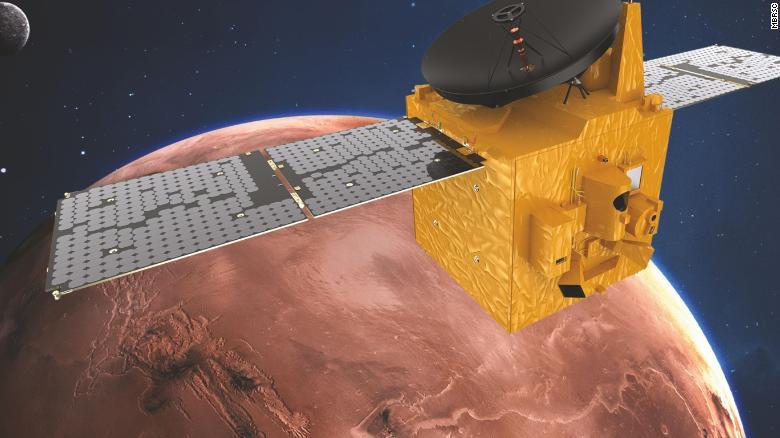 مدارگرد «امید» در نزدیکی مریخ: امارات پیش از آمریکا و چین به سیاره سرخ میرسد