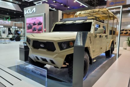 کانسپتهای نظامی کیا در نمایشگاه IDEX امارات متحده عربی رونمایی شدند