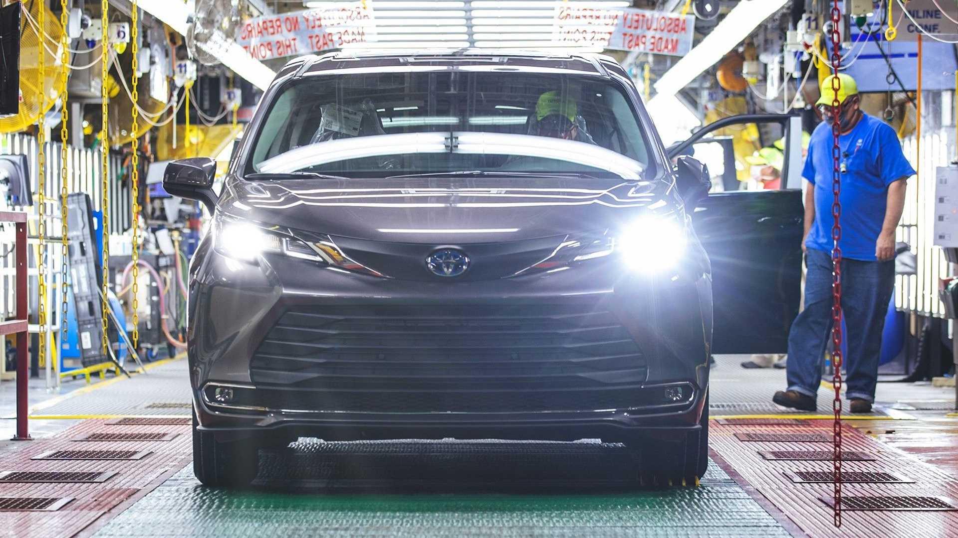 تویوتا رکورد تولید 30 میلیون خودرو در آمریکا را شکست