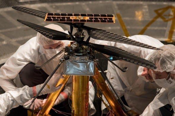 99CDCD2D 5FBA 4D58 A27DED79D76B19F0 source هر آنچه از «نبوغ»، هلیکوپتر کوچک مریخ میدانیم اخبار IT