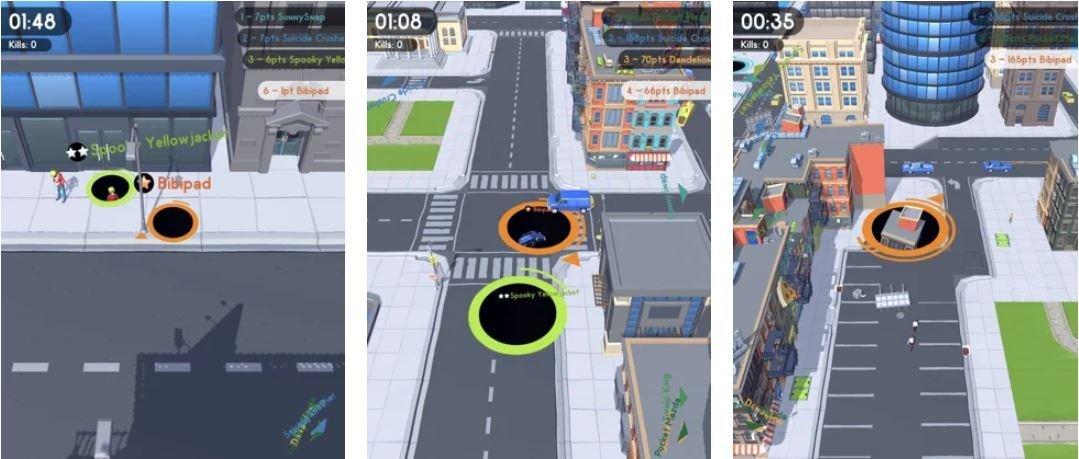 Capture 1 با بهترین بازیهای io موبایل آشنا شوید اخبار IT