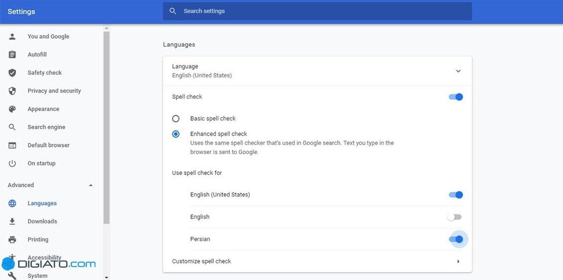 Chrome Persian spell check 1 غلط یاب املایی فارسی را چگونه به مرورگر کروم اضافه کنیم؟ اخبار IT