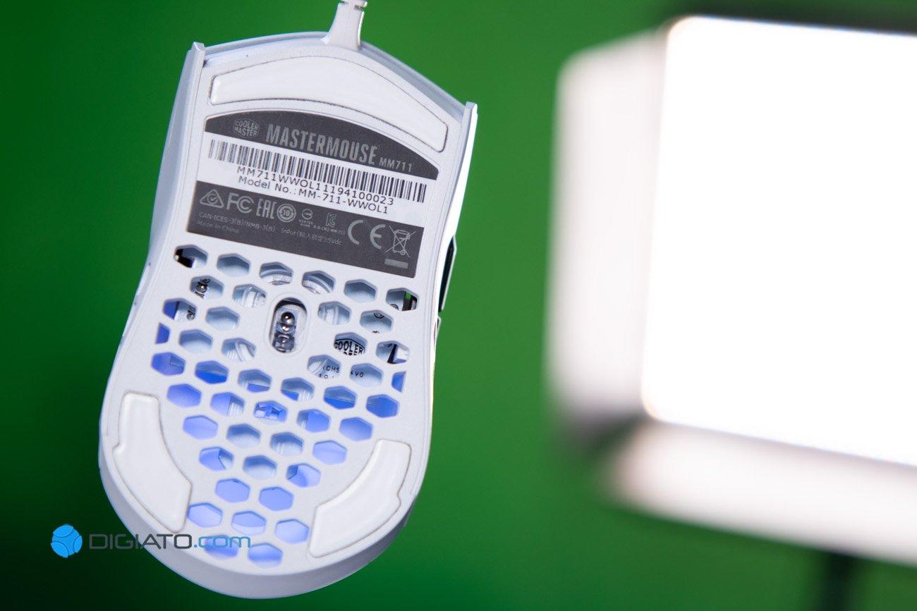 Digipic CoolerMaster MM711 08 بررسی ماوس گیمینگ کولر مستر MM711؛ حرفهای بازی کنید [تماشا کنید]