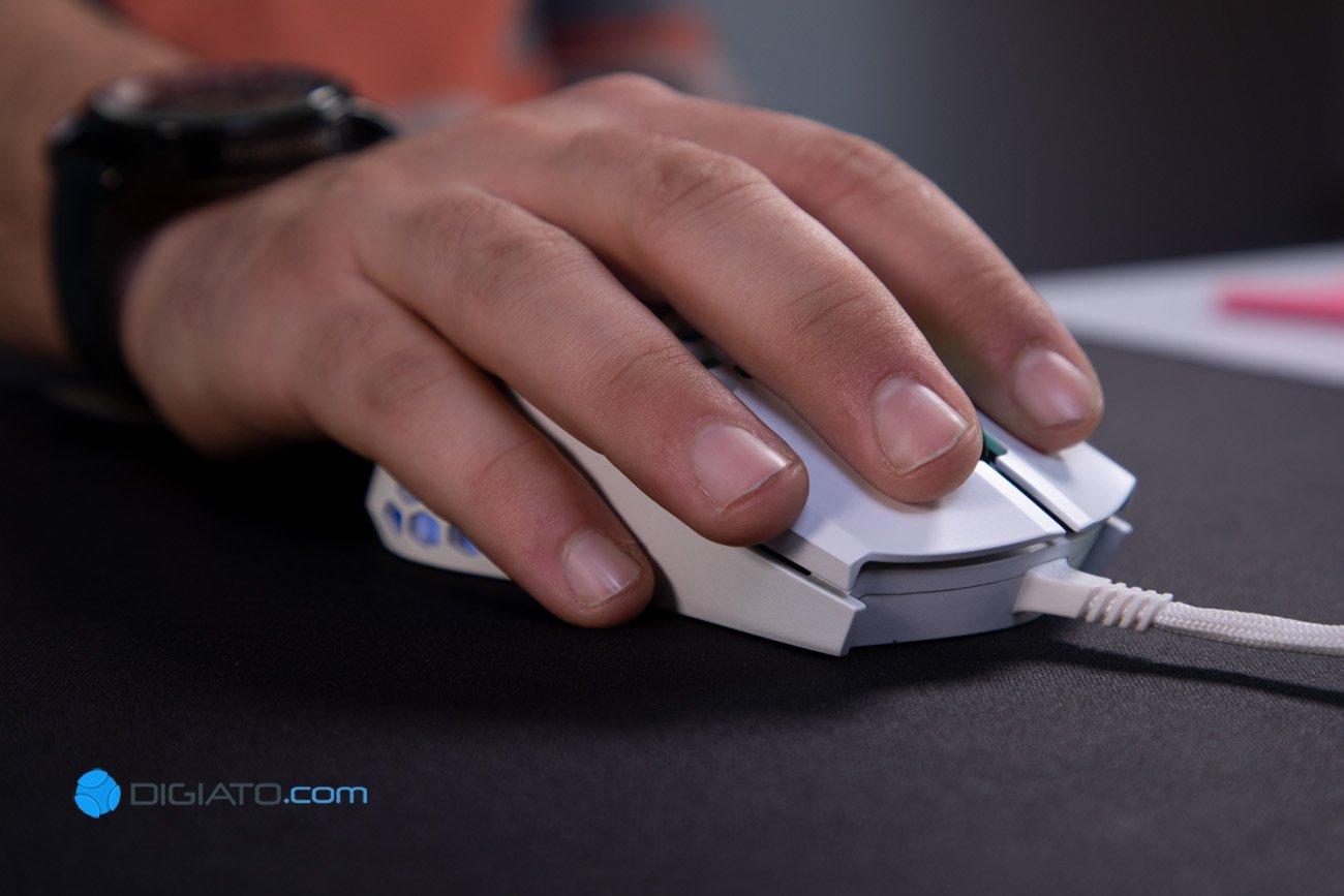 Digipic CoolerMaster MM711 11 بررسی ماوس گیمینگ کولر مستر MM711؛ حرفهای بازی کنید [تماشا کنید]
