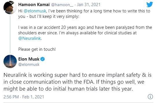 Elon Musk neuralink ایلان ماسک: آزمایش انسانی ایمپلنت نورالینک احتمالا در ۲۰۲۱ آغاز میشود اخبار IT