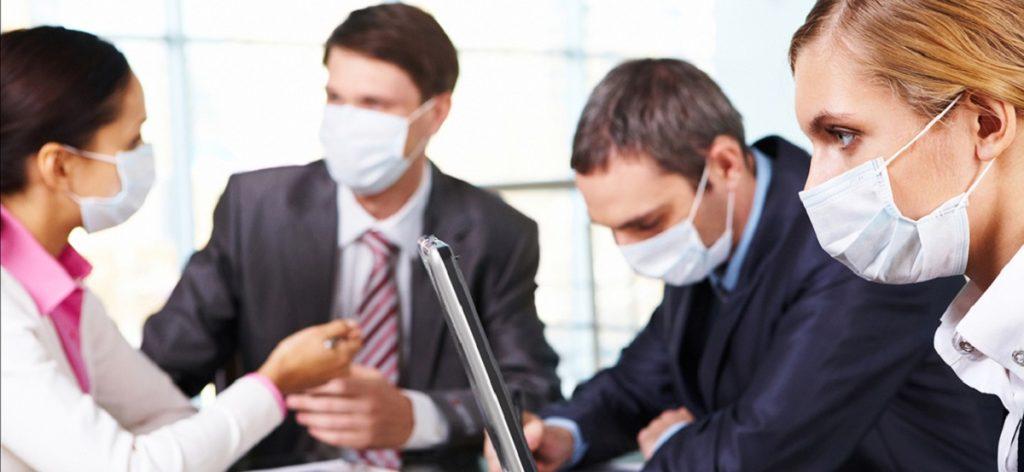 FEATURED SickMasks 1024x472 معضل پساکرونا برای کسبوکارها: بازگشت به محل کار یا ادامه دورکاری؟ اخبار IT