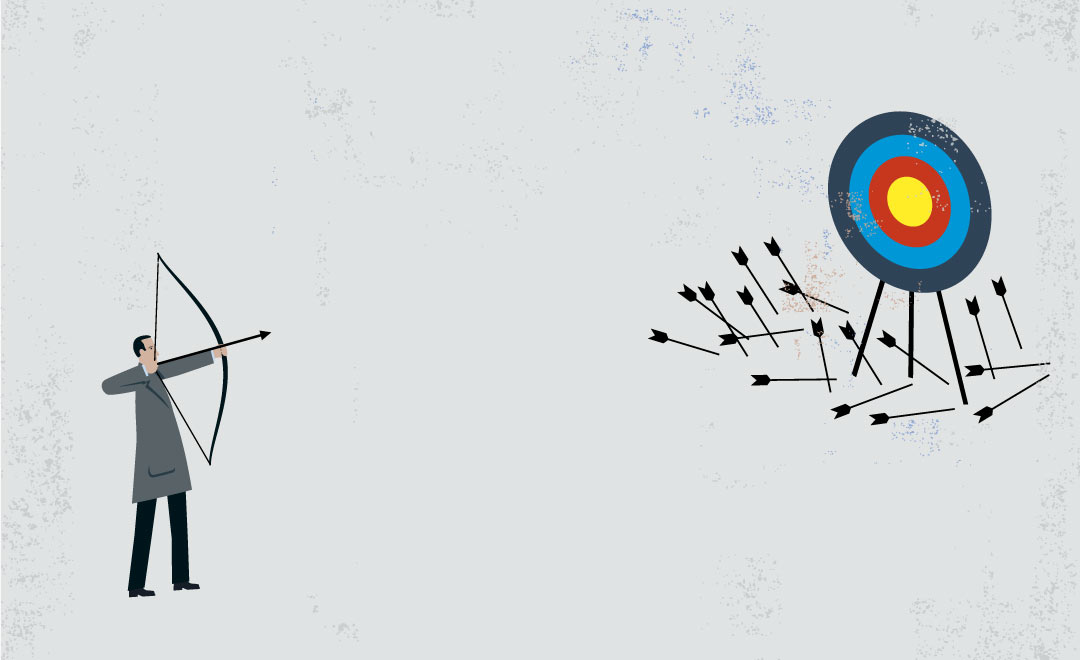 Failure Man Arrow Bullseye Miss با این سه راهکار، ترس از شکست را به انگیزه تبدیل کنید اخبار IT