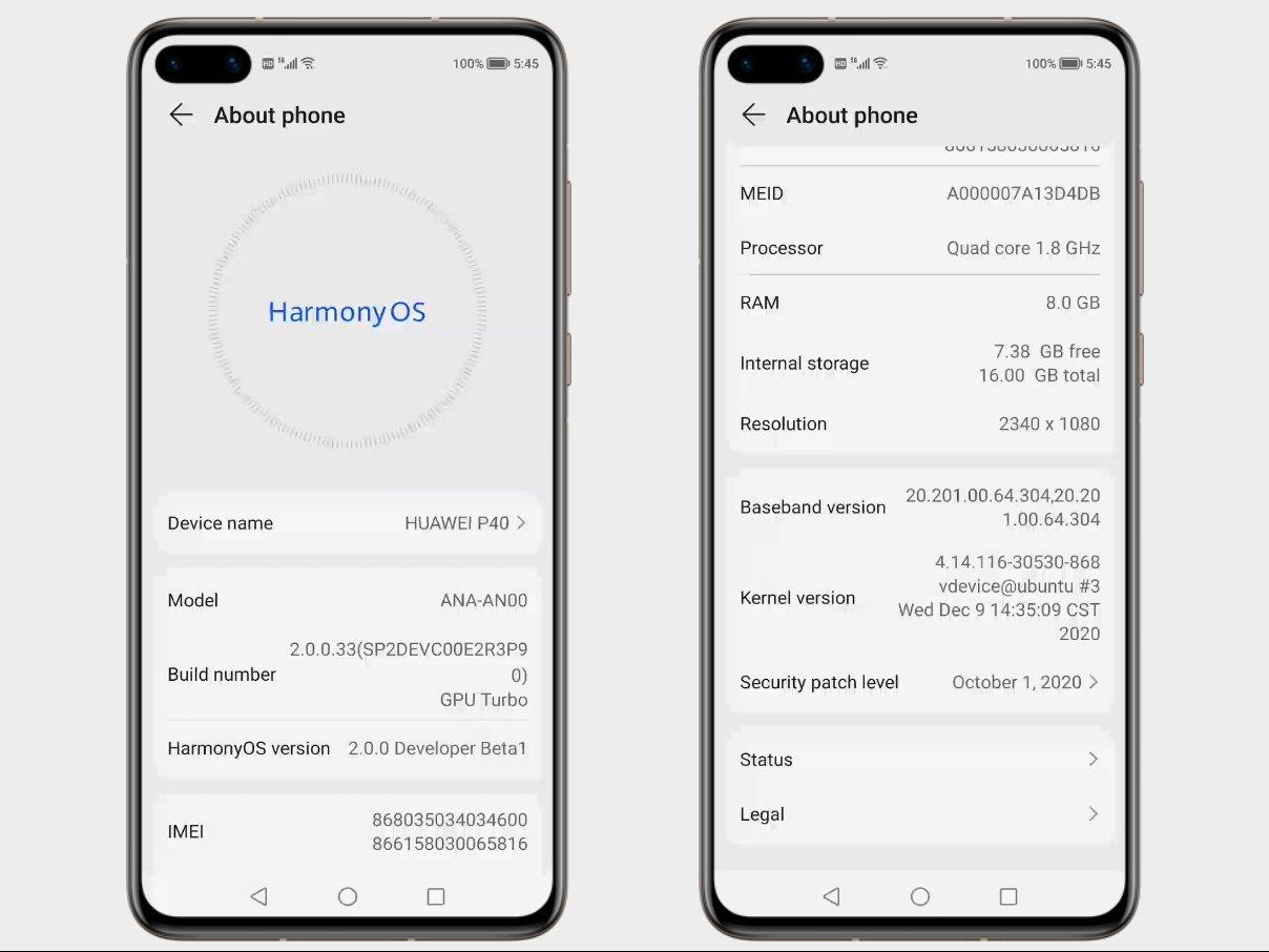 Harmony OS 2 اطلاعات جدید از سیستم عامل هواوی: هارمونی احتمالاً مبتنی بر اندروید است اخبار IT
