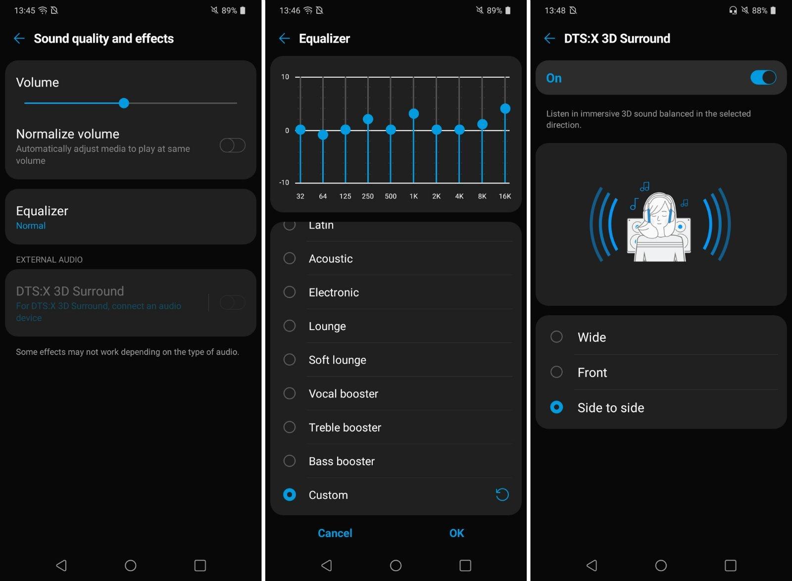 LG K41s UI 1 w1600 بررسی ال جی K41S ؛ گوشی اقتصادی با امکانات یک میانرده اخبار IT