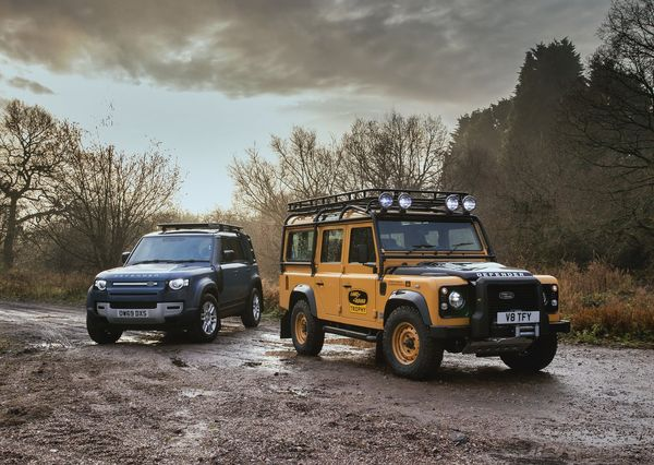 Land Rover Defender Works V8 Trophy 2021 2 لندرور دیفندر Works V8 Trophy معرفی شد؛ یک نسخه هیجانانگیز برای علاقهمندان آفرود اخبار IT