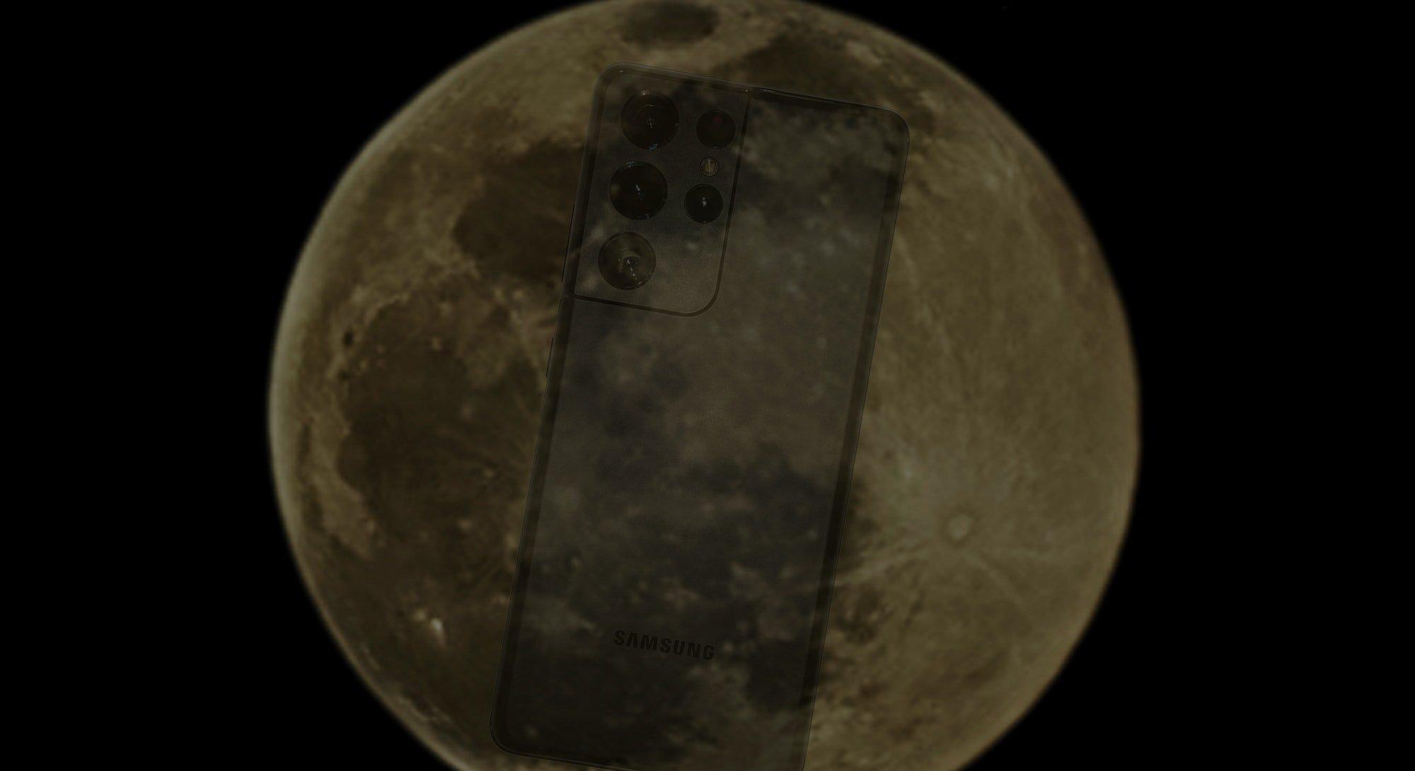 آیا عکسهای گرفته شده از ماه با گلکسی S21 اولترا دستکاری شدهاند؟