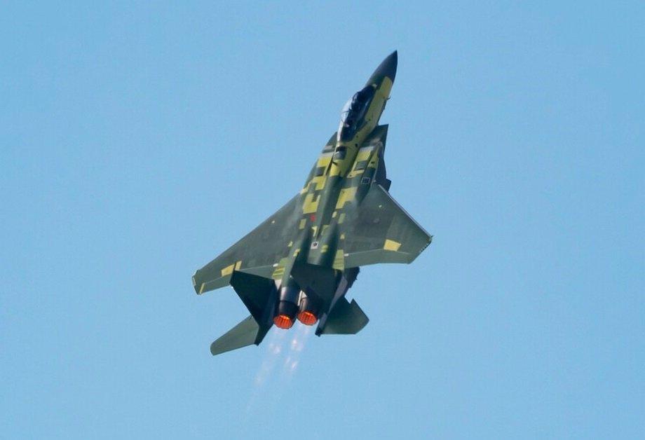 OIGFWLKYJNCNRCVIAD2COIKIIE w1200 جنگنده جدید F 15EX با «ستون فقرات دیجیتال» برای اولین بار پرواز کرد اخبار IT
