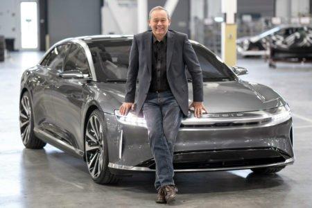 ادعای جالب پیتر رالینسون: لوسید موتورز از لحاظ تکنولوژی جلوتر از تسلا قرار دارد