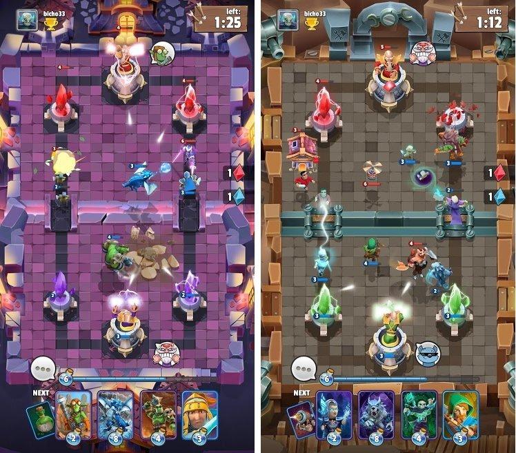 بازی Clash of Wizards